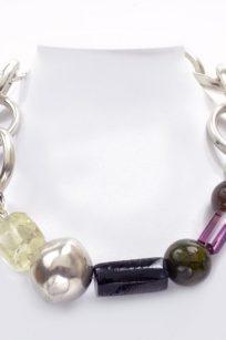 Collier gros anneaux
