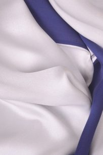 Etole bleue et blanc detail